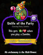 Unlife of the Party Oldstats