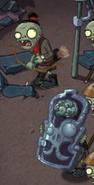 Зомби-гвардеец пер уровнем