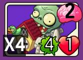 Cuckoo Zombie New Card