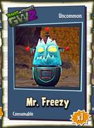 Mr. Freezy Sticker
