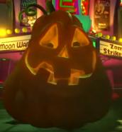 Close-Up of Spooky Squash