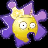 Lemon Puzzle Piece
