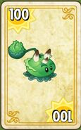 Cabbage-pult endless zone card with third costume