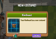 New Costume Kiwibeast