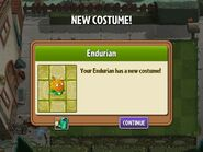 Getting Endurian's Second Costume