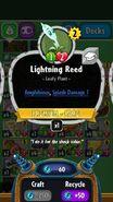 Lightning Reed statistics