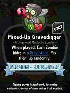 Mixed-Up Gravedigger old statistics
