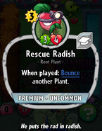 Rescue Radish old stats