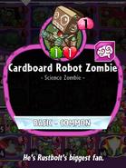 Cardboard Robot Zombie Description
