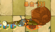 Mega Snail died