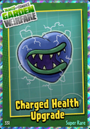 Sticker Charged Health Upgrade