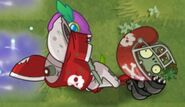 Defeated Football Zombie (PvZ 2)