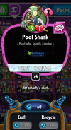 Pool Shark stats