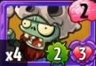 Zombie Fossilhead Cart