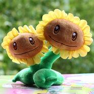 Plush-Twin-Sunflower-toys