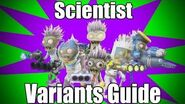 Scientist Variants Guide