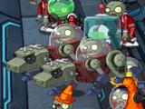 Механический зомби-волк