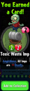 Earning Toxic Waste Imp
