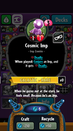 CosmicImpStats