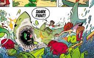Shark in Comics