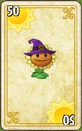 Sunflower Halloween EZ Card