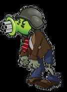HD Gatling Pea Zombie