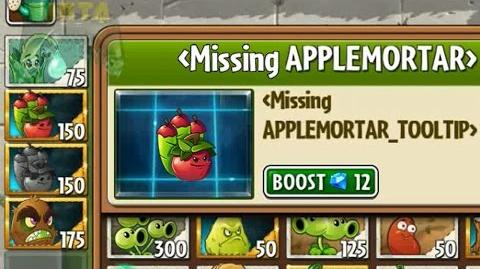 Plants vs Zombies 2 - New plant Apple Mortar (Unfinished) Kiwibeast in new Pinata Party 7 27 2016