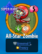 Receiving All-Star Zombie