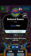 Backyard Bounce statistics