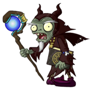 HD Dark Wizard Zombie