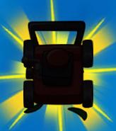 Lawnmower silhouette