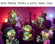 Party meme flag zombie