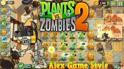 Plants vs. Zombies 2 New Tomb Raiser Zombie Ancient Egypt Day 10 (Ep