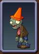 Conehead Zombie Icon2
