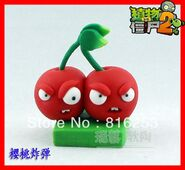 Free-Shipping-New-Arrvial-Plants-vs-zombies-2-It-is-about-time-Cherry-Bomb-action-figure