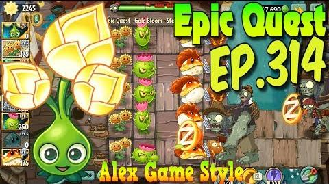 Plants vs. Zombies 2 GOLD BLOOM - Epic Quest Premium Seeds (Ep