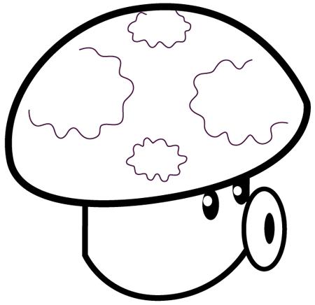 Image - Puff-shroom-Plants-vs-Zombies-Coloring.png | Plants vs ...