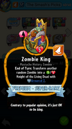 Zombie King Description