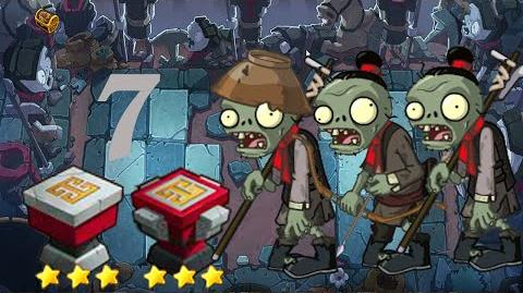 PvZ Online - Adventure Mode - Side of the Mausoleum 7