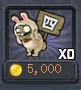 Rabbit zombie coins