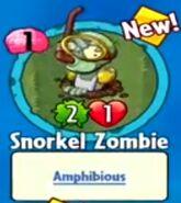Receiving Snorkel Zombie