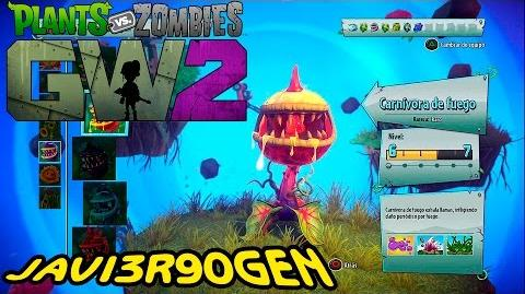 VAYA DIVERSION▐ CARNIVORA DE FUEGO▐ PvZ GARDEN WARFARE 2 PS4