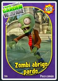 Zombi Abrigo Pardo