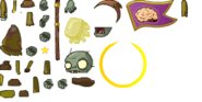 Zombie dark flagsprites