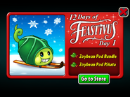 12 Days of Feastivus 2019 Day 1 Zoybean Pod