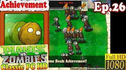 Plants vs. Zombies - Achievement Roll Some Heads - Classic PC HD (Ep