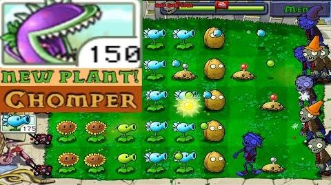 Plants vs. Zombies Adventure Got a New Plant Chomper level 1-7 Day (Android Gameplay HD) Ep