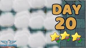 Plants vs Zombies 2 China - Steam Ages Day 20 Fog 《植物大战僵尸2》- 蒸汽时代 20天