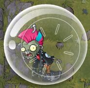 Punk Zombie Hamster Ball