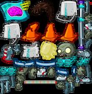 80's zombies textures